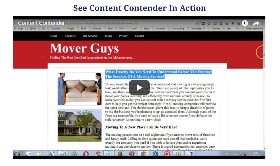 Checkout Content Contender